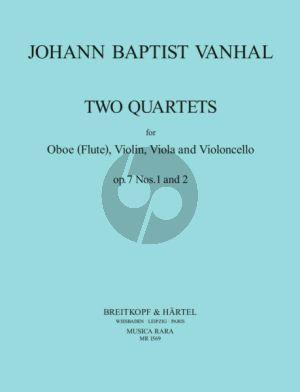 Quartet Op.7 No.1 - 2 (Oboe[Flute]-String Trio)