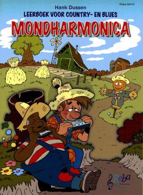 Dussen Leerboek voor Country & Blues Mondharmonica