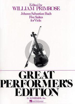 5 Suites for Viola