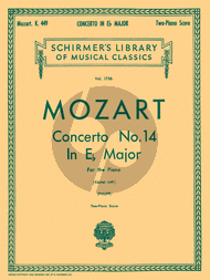 Concerto No.14 E-flat Major KV 449