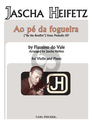 Ao Pe Da Fogueira for Violin and Piano