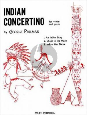 Perlman Indian Concertino Violin and Piano