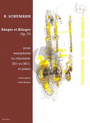 Adagio & Allegro Op.70 Alto / Tenor Sax. [Clar.] - Piano