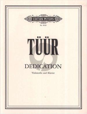 Tüür Dedication Violoncello-Klavier