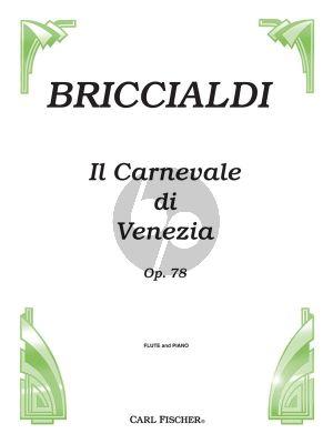 Briccialdi Il Carnavale de Venizia Op.78 Flute-Piano