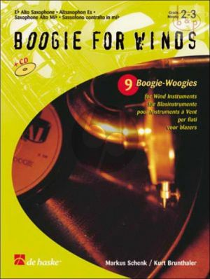 Boogie for Winds (Alto Sax)