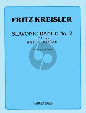 Slavonic Dance Op.46 No.2 E minor (Kreisler)