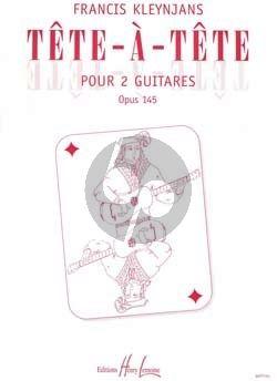 Kleynjans Tete a Tete Op.145 2 Guitares