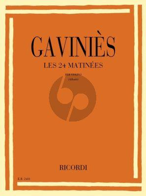Gavinies 24 Matinees Violin