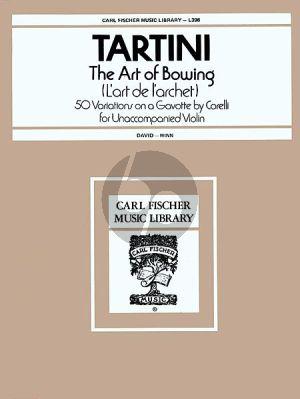 The Art of Bowing (L'Art de L'Archet)