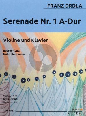 Drdla Serenade No.1 A-dur Violin-Piano (Heinz Bethmann)