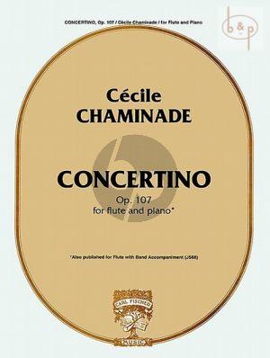 Concertino Op.107 Flute-Piano