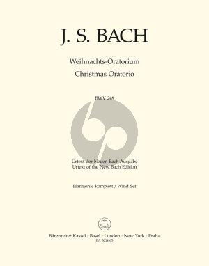 Bach Weihnachts Oratorium BWV 248 Soli-Chor-Orch. Harmonie Set