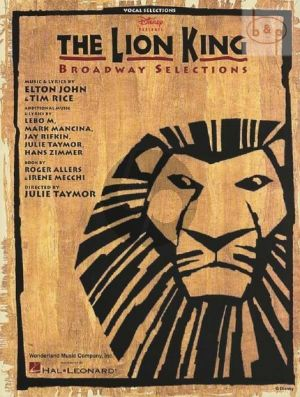 Lion King the Musical (Broadway Selections)