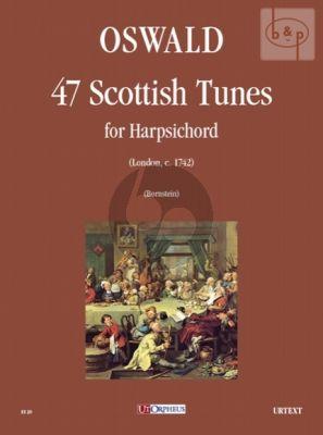 47 Scottish Tunes Harpsichord