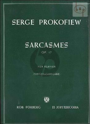 Sarcasmes Op.17 Piano