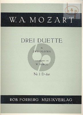 3 Duette No.1 D-dur