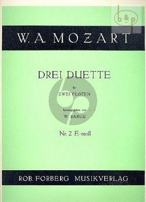 3 Duette No.2 e-moll