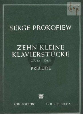 Prelude Op.12 No.7
