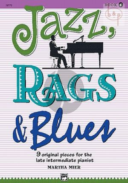 Jazz-Rags & Blues Vol.4 Piano solo