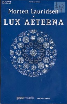 Lux Aeterna SATB and Piano