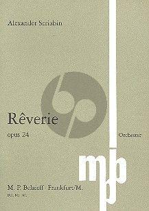 Scriabin Reverie e-moll Op. 24 Orchester (Studienpartitur) (1898)
