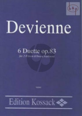 6 Duette Op.83 2 Flutes