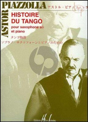 Histoire du Tango Saxophone[Bb]-Piano