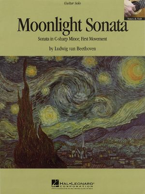 Beethoven Moonlight Sonata Op. 27 No. 2 for Guitar (First Movement Theme)