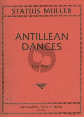 Statius Muller Antillian Dances for Piano