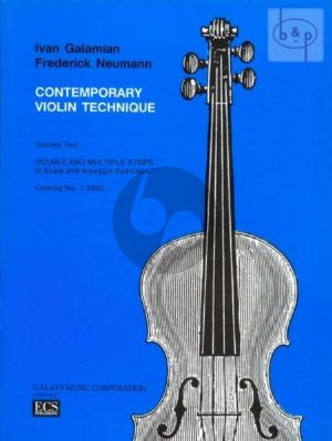 Contemporary Violin Technique Vol.2