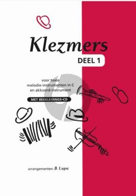 Klezmers Vol.1 (two C instr.) (Bk-CD)