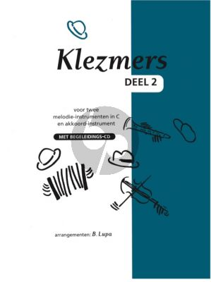 Bruinen Klezmers Vol.2 for 2 C instruments (Bk-Cd) (arr. B.Lupa)