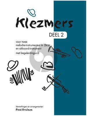Klezmers Vol.2 2 Bes Instrumenten (Bk-Cd) (arr. B. Lupa)