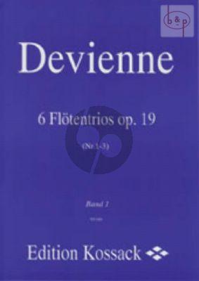 6 Trios Op.19 Vol.1 (No.1 - 3) 3 Flutes