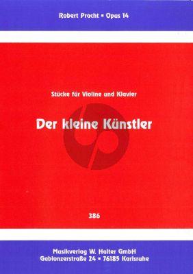 Pracht Der Kleine Kunstler Op.14 Violine und Klavier