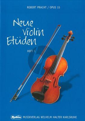 Pracht Neue Violin Etuden Op.15 Vol.1 (Leichte Etuden in der 1. Lage)