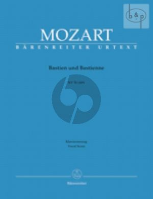 Bastien & Bastienne KV 50 (46b) (Vocal Score) (germ.)