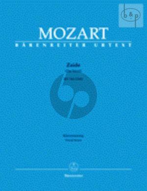 Zaide (Das Serail) KV 344 (336b) (Vocal Score)
