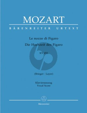 Mozart Le Nozze di Figaro KV 492 Vocal Score (ital./germ.) (edited by Ludwig Finscher) (Barenreiter-Urtext)