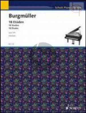 18 Etuden Op.109 for Piano