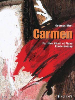Bizet Carmen (Opera 4 Akten) (KA.) (Franz./Deutsch)
