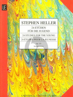 Heller 24 Etuden fur die Jugend Op.125 Klavier