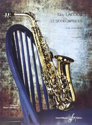 22 Dodecaprices pour Saxophone