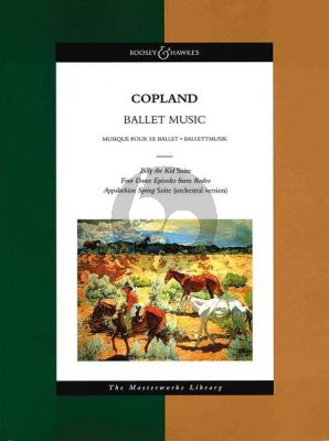 Copland Ballet Music for Orchestra (Full Score)