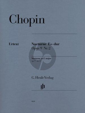 Chopin Nocturne Op.9 No.2 E-flat major Piano (edited by Ewald Zimmermann) (Henle-Urtext)