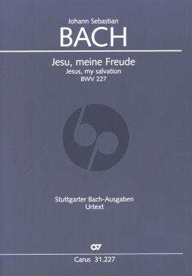 Bach Jesu meine Freude BWV 227 Singstimmen (SSATB) und Instrumente (Partitur) (Günter Graulich)