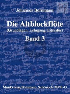 Die Altblockflote Vol.3