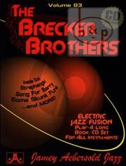 Jazz Improvisation Vol.83 The Brecker Brothers