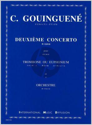 Gouinguené Concerto No. 2 Trombone et Piano